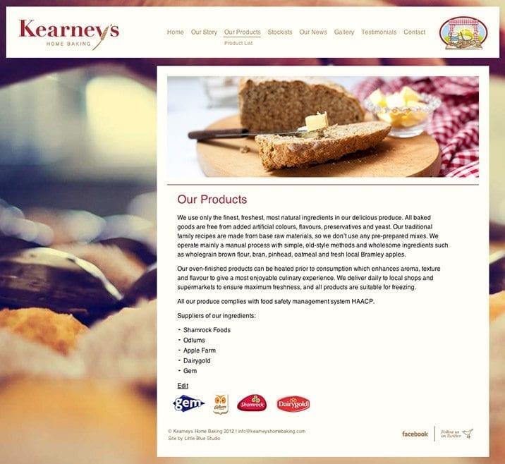 Web site design kearneys 1