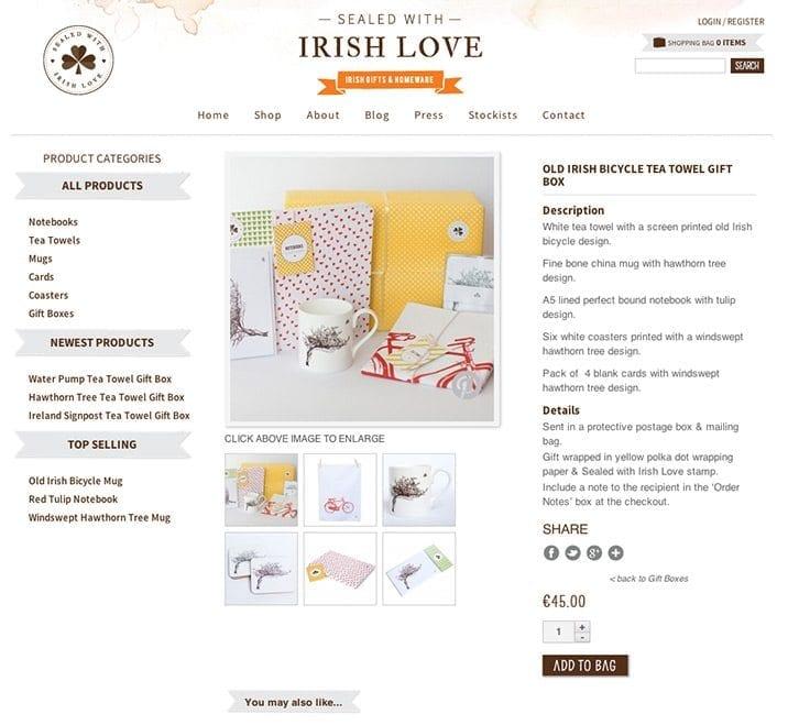 Web site design il item