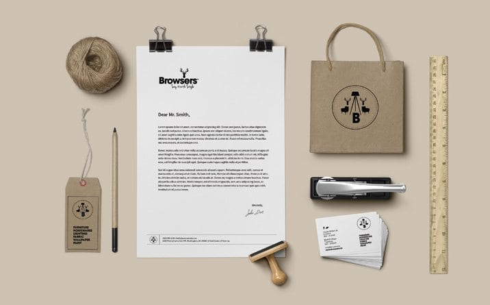 Web site design Browsers stationery