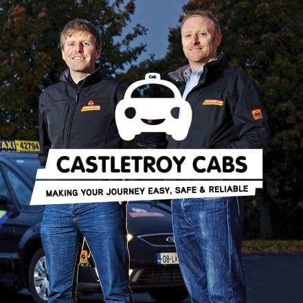 Castletroy Cabs logo by Web designer Limerick, Munster