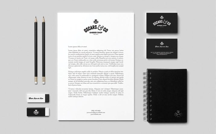 Web site design OC Stationery