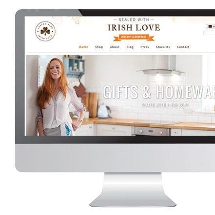 Sealed with Irish love website