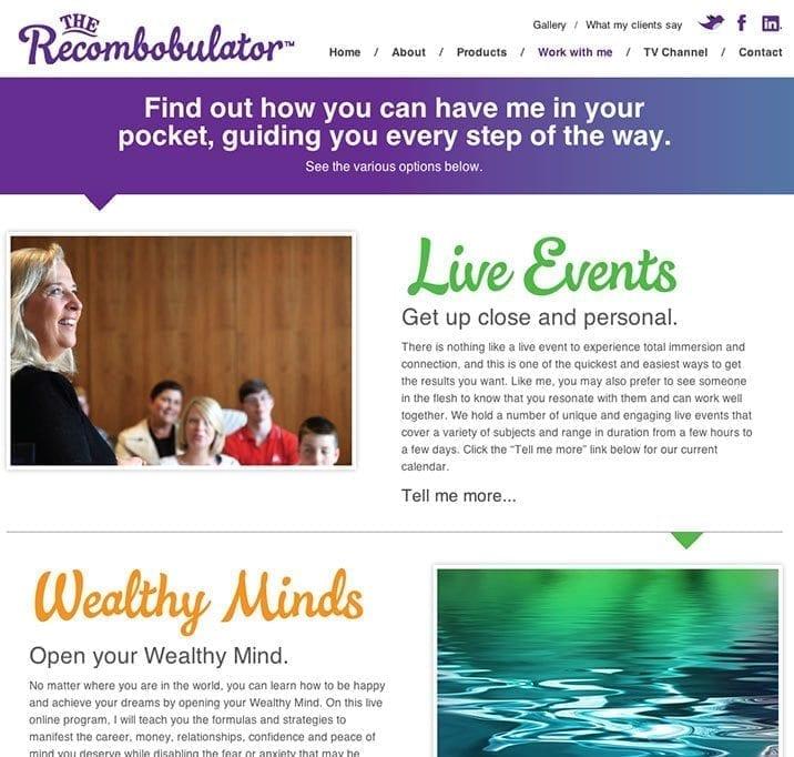 Web site design recom 1