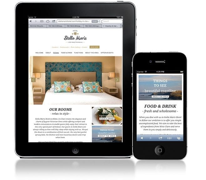 Website design project stella devices