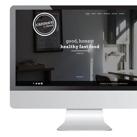 Limerick Cafe Canteen website design