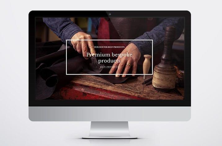 Web site design Dexter beef 5
