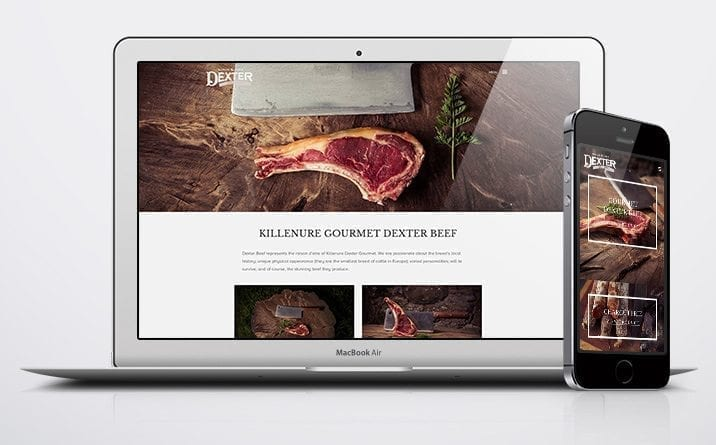 Web developer Munster project Dexter beef 6