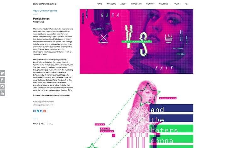 Little Blue Studio website design LSAD 5