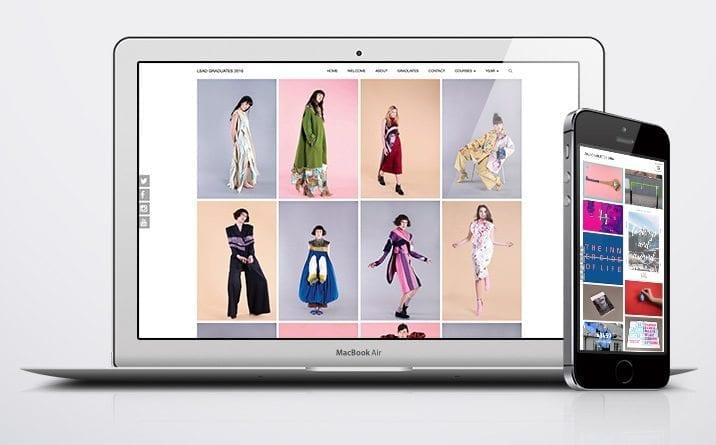 Website design project LSAD Mac