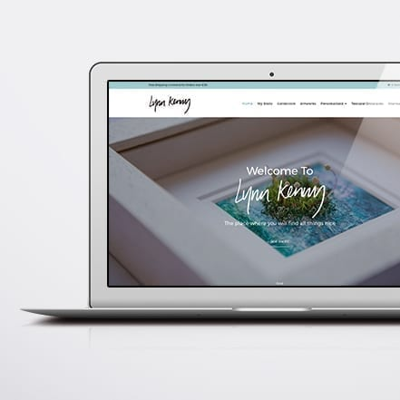 Lynn Kenny website design