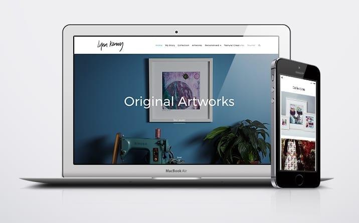 lynn kenny responsive website