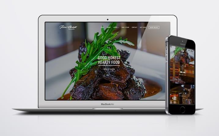 steakout mobile website