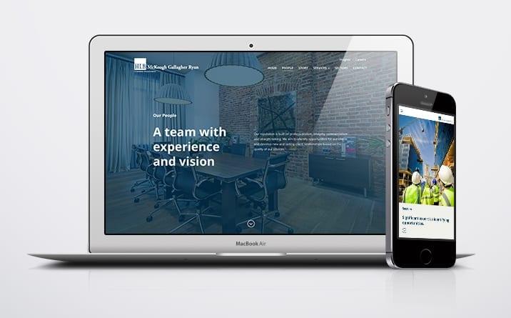 Business Website Design for HLBMGR in Dublin and Limerick