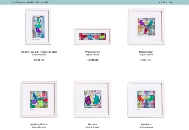 online shop design Lynn Kenny