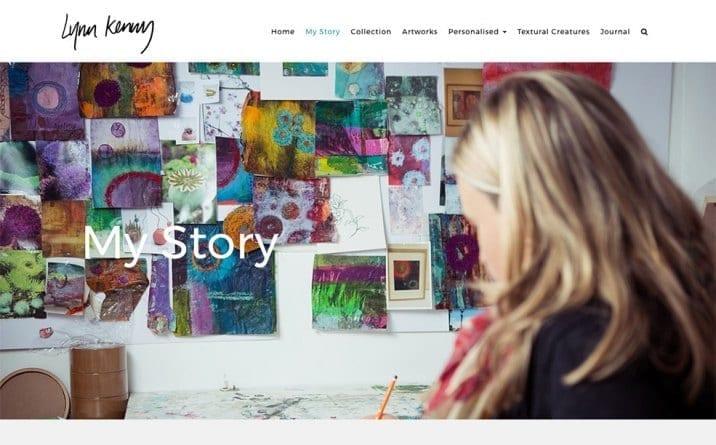 my story Lynn Kenny design