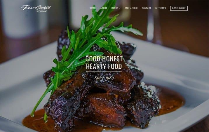 texas steakout website menus