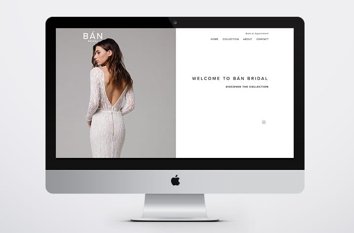 Welcome to Ban Bridal's New Website
