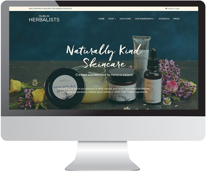Dublin Herbalists Naturally Kind Skincare