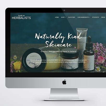 Dublin Herbalists Web Designer
