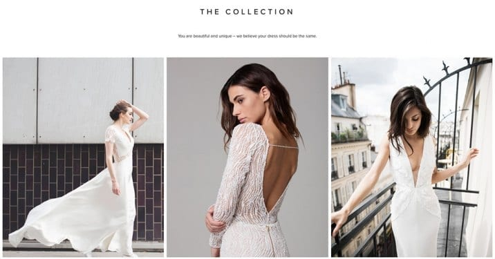 View the Ban Bridal Collection Online