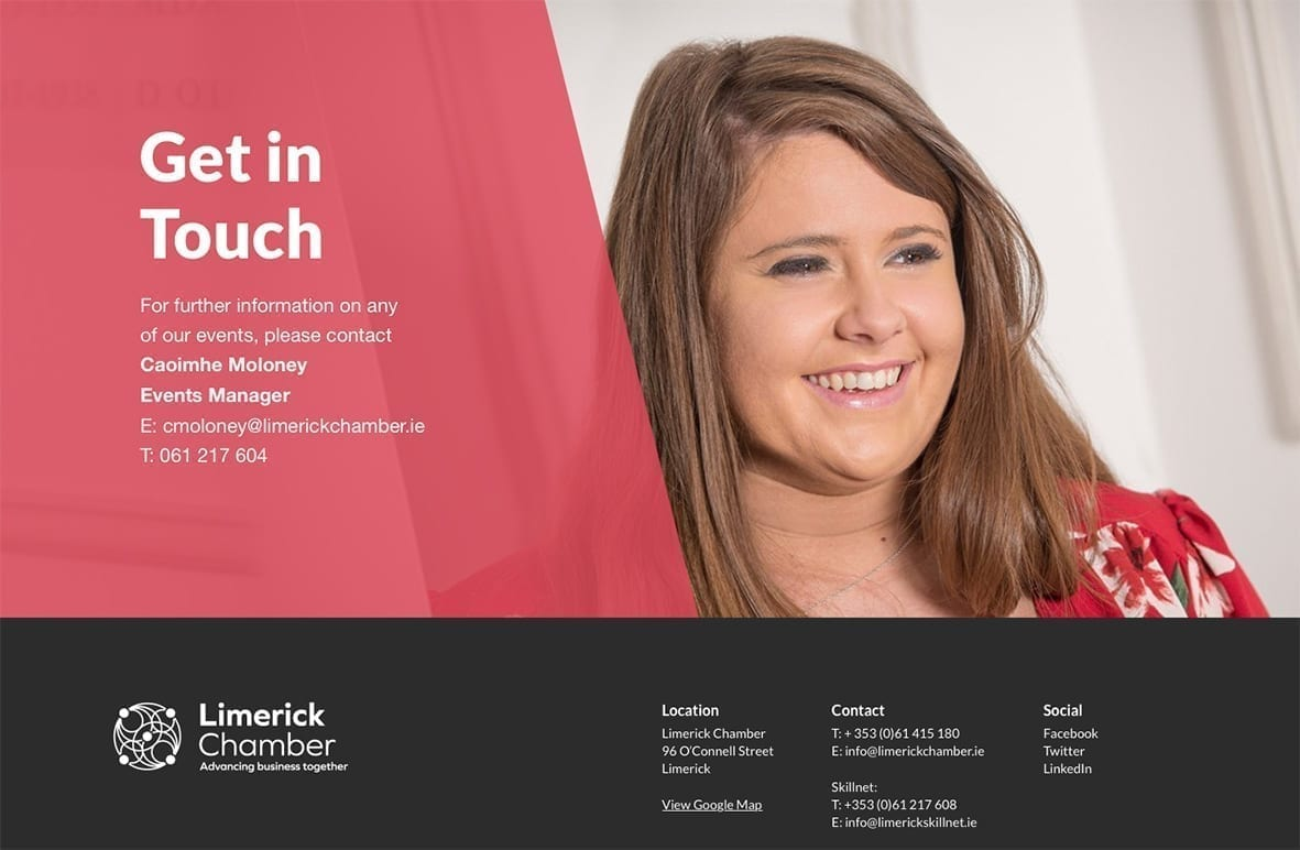 Limerick Chamber Get in Touch