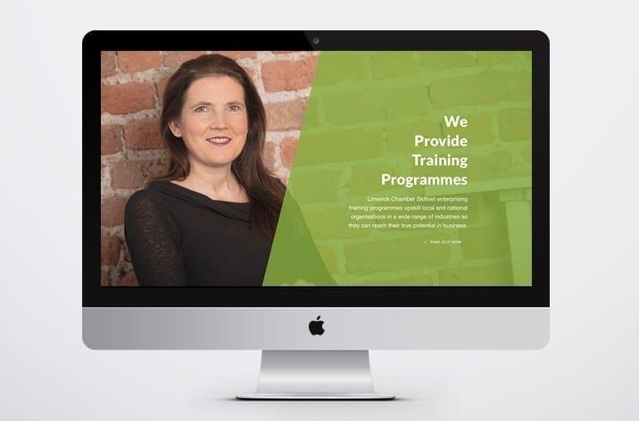 Limerick Chamber New Website Design
