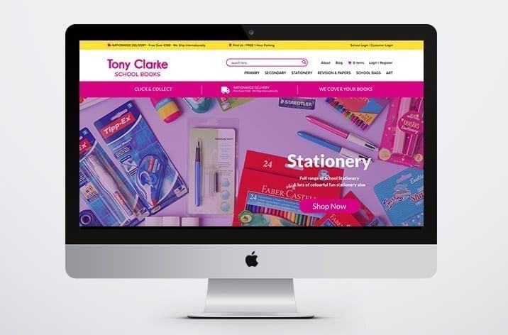 Tony Clarke's Limerick Web Designer