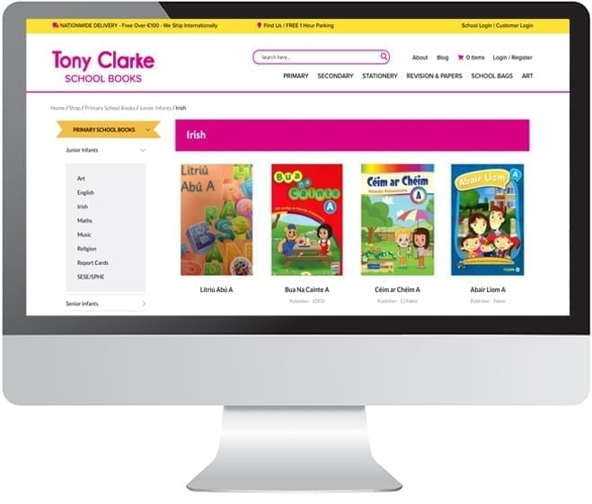 Tony Clarke's Online Bookshop