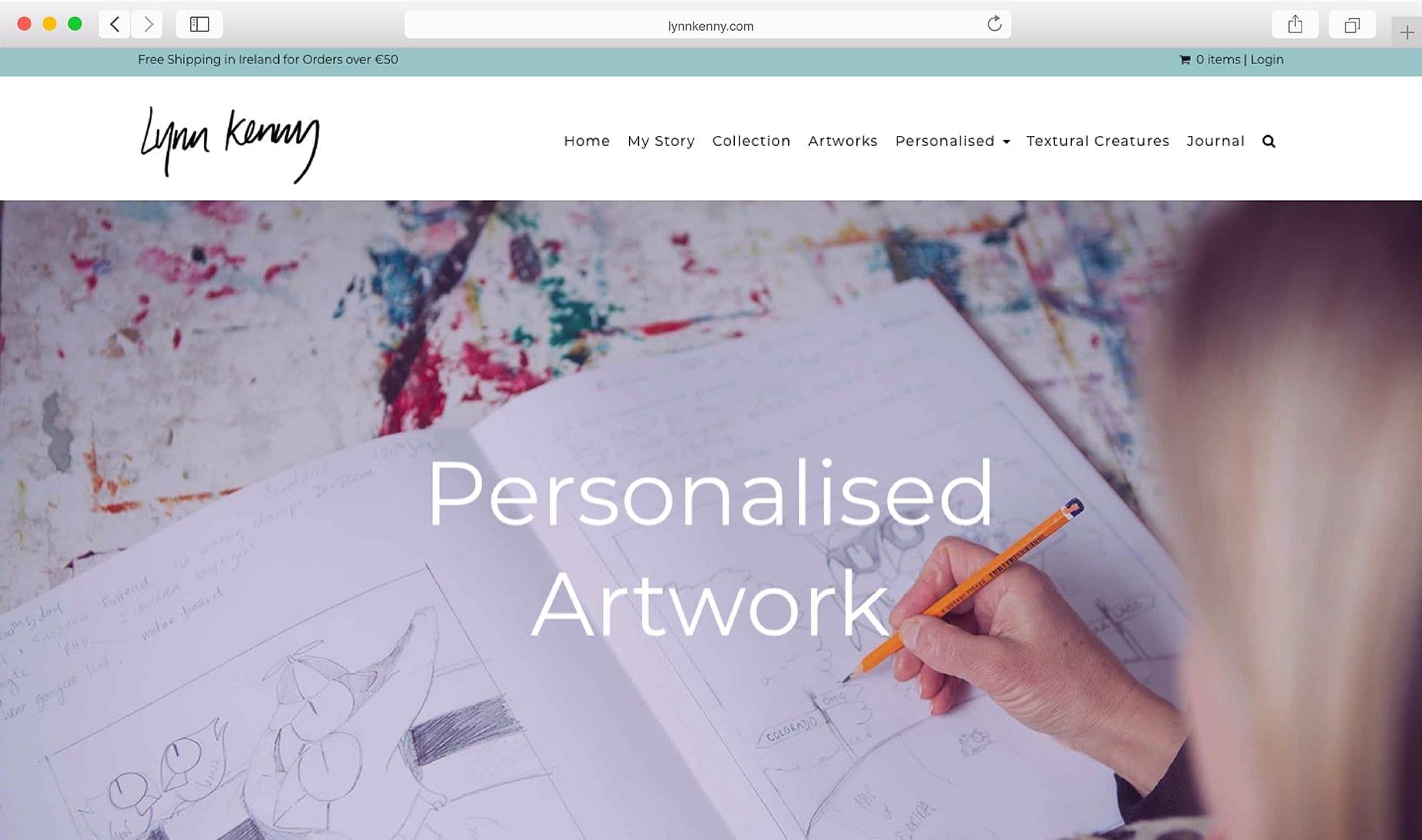 Online Art Catalog