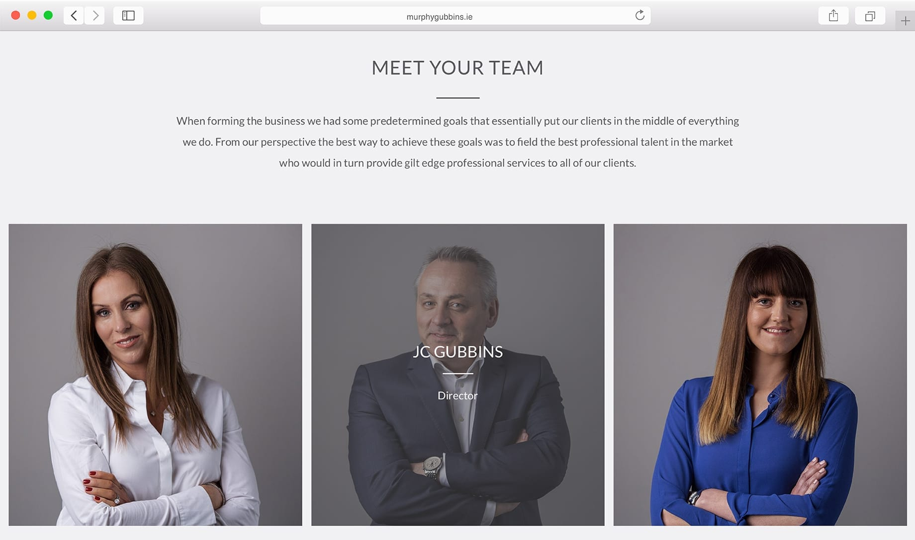 Murphy Gubbins Limerick WebDesign
