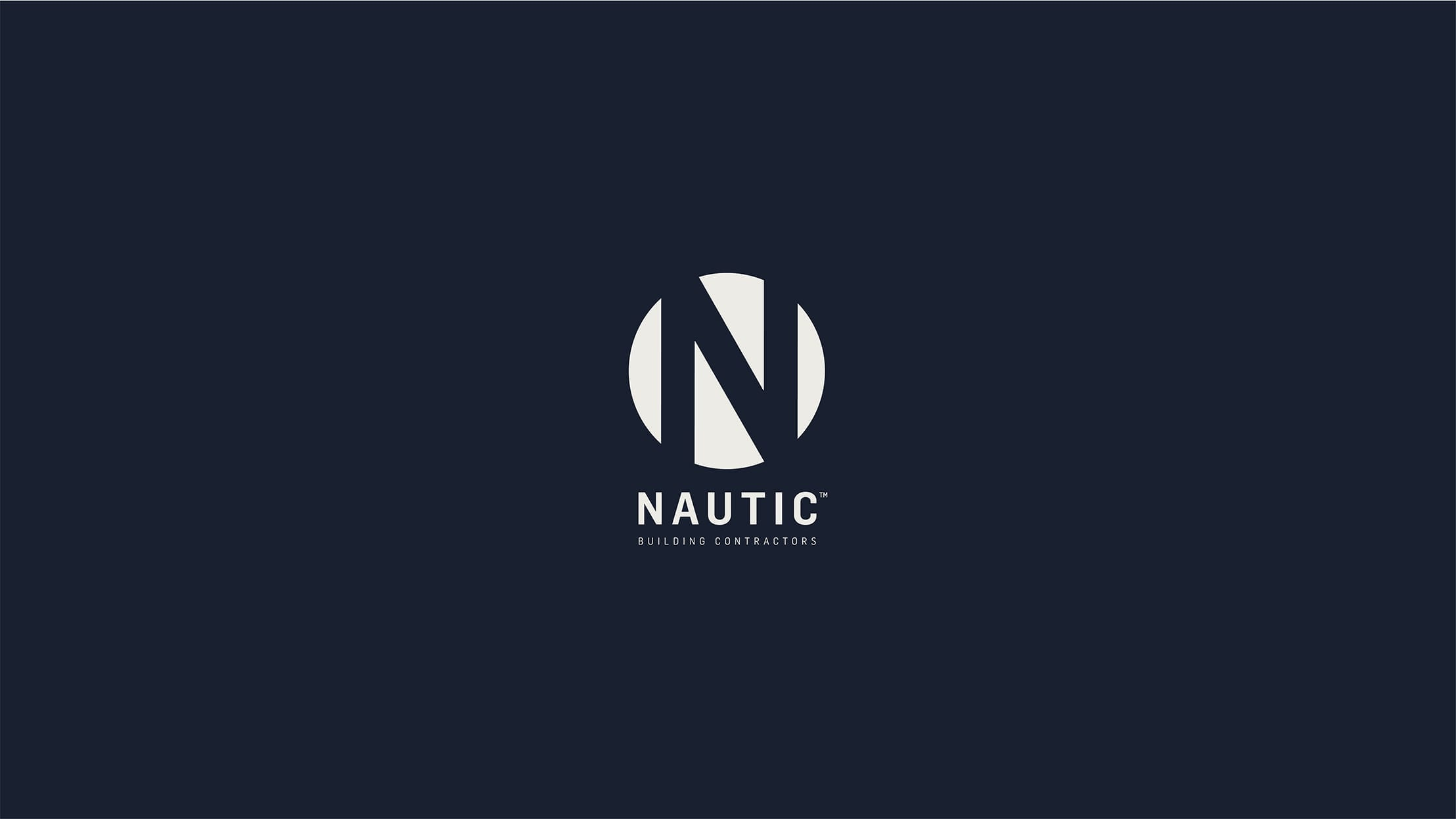 Nautic Dark Branding