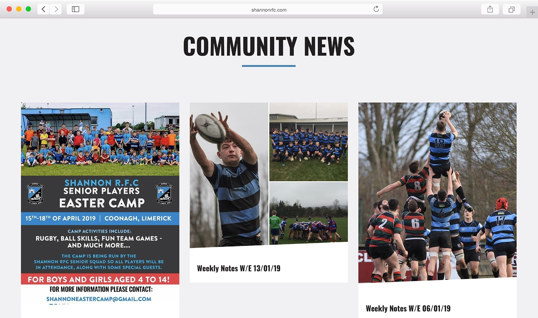 Website Community News