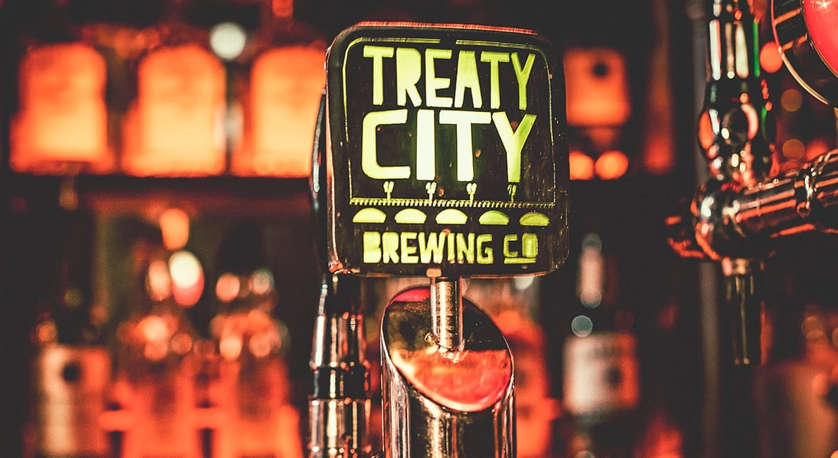 Treaty City Brewery Bottles
