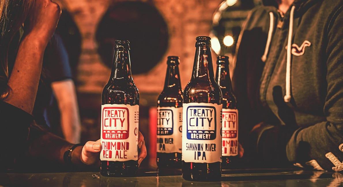 Treaty City Brewery Website Design Craft Beer